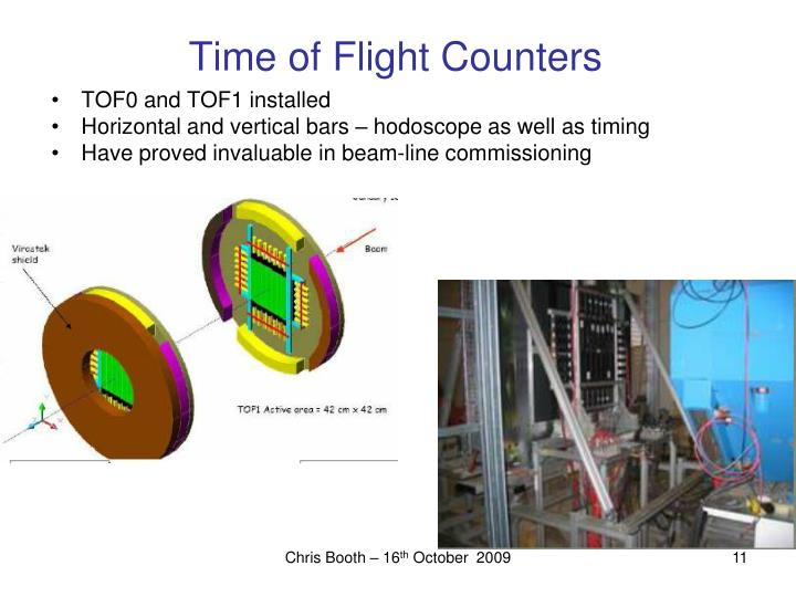 Time of Flight Counters