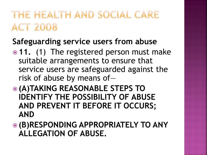 safeguarding abuse and social care Thousands of allegations of abuse and thousands of complaints made about elderly care allegation of poor care to conduct its own safeguarding.