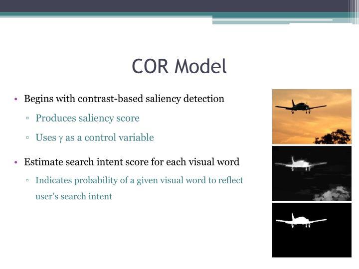 COR Model