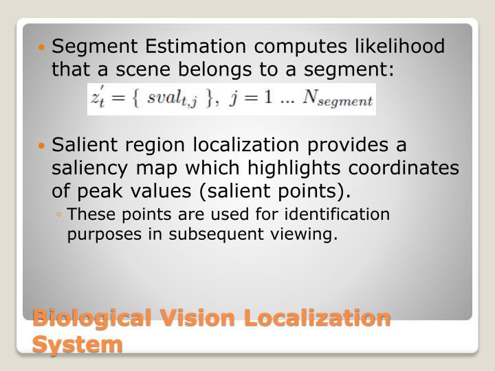 Segment Estimation