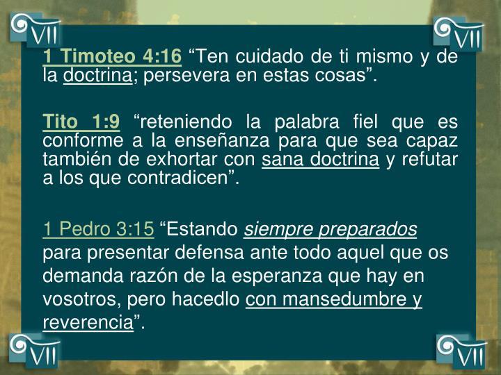 1 Timoteo 4:16