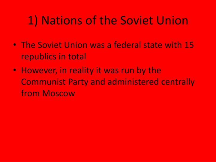 1 nations of the soviet union