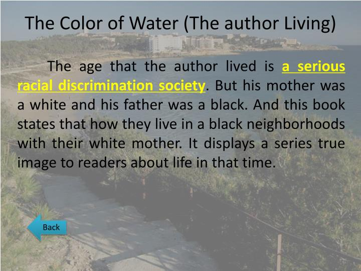 essay on color of water