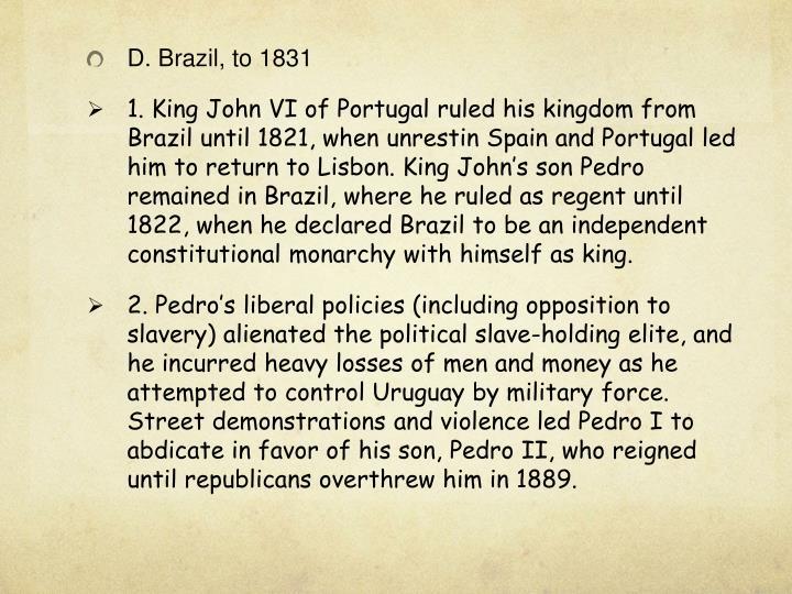 D. Brazil