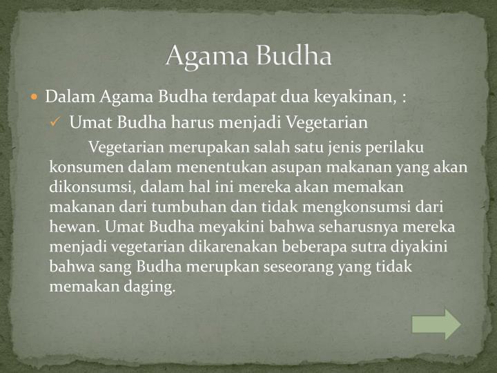 Agama Budha