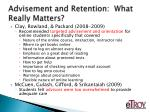 advisement and retention what really matters5
