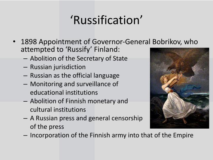 'Russification'