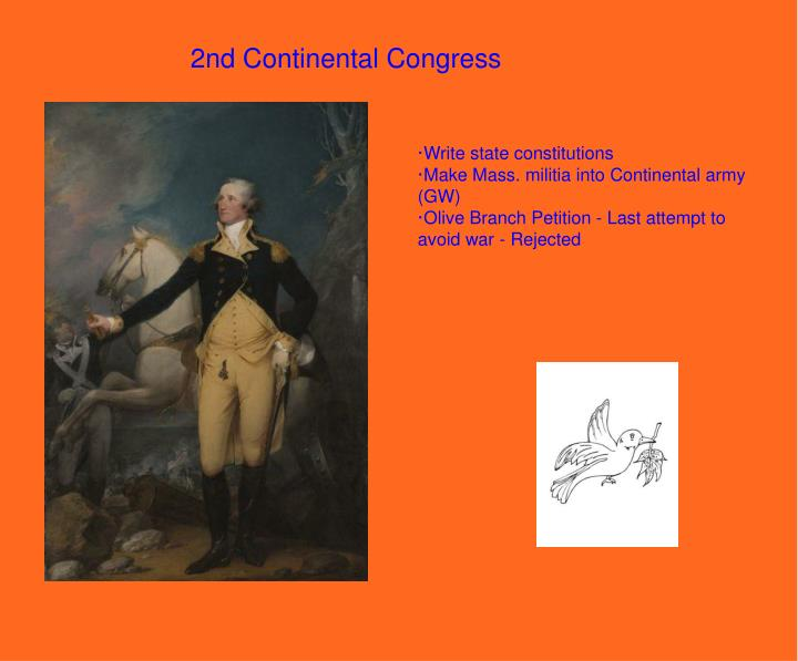 2nd Continental Congress