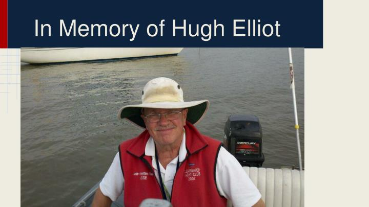 In Memory of Hugh Elliot