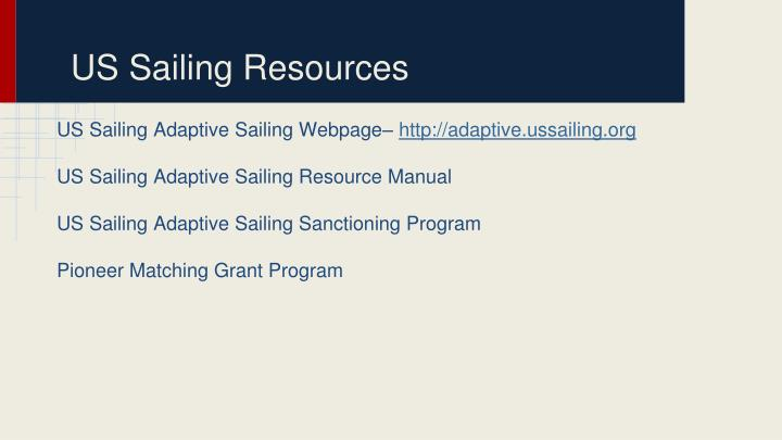 US Sailing Resources