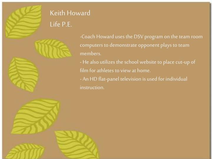 Keith Howard