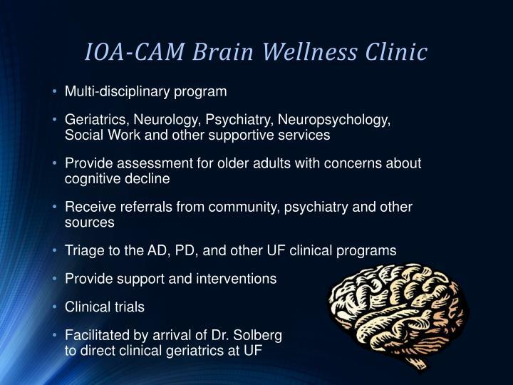 IOA-CAM Brain Wellness Clinic