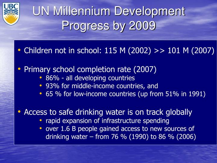 UN Millennium Development