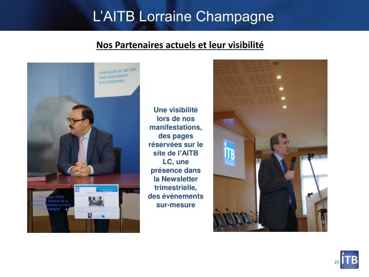 L'AITB Lorraine Champagne