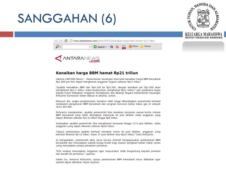 SANGGAHAN (6)