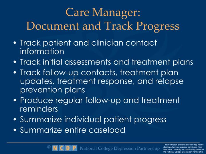 Care Manager: