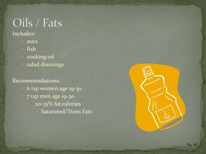 Oils / Fats