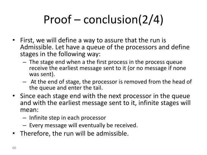 Proof – conclusion(2/4)