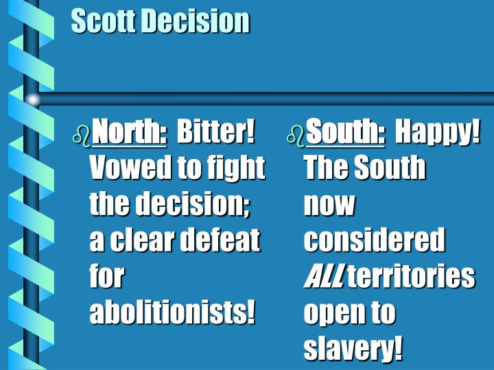 North: