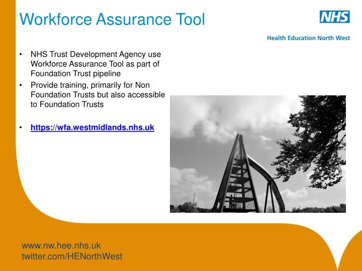 Workforce Assurance Tool