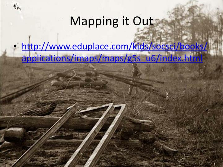 PPT Traveling The Underground Railroad PowerPoint Presentation - Us map eduplace