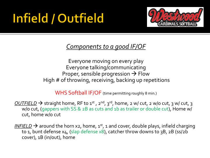 Infield / Outfield