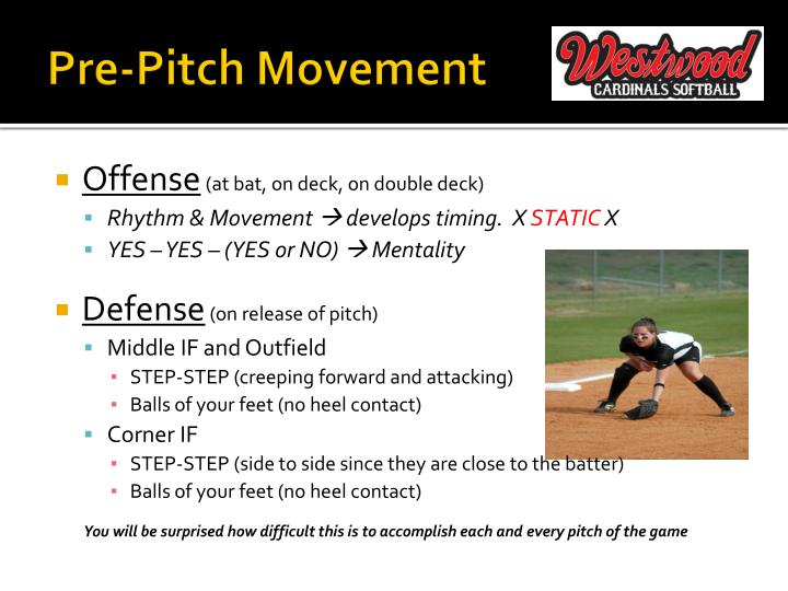 Pre-Pitch Movement