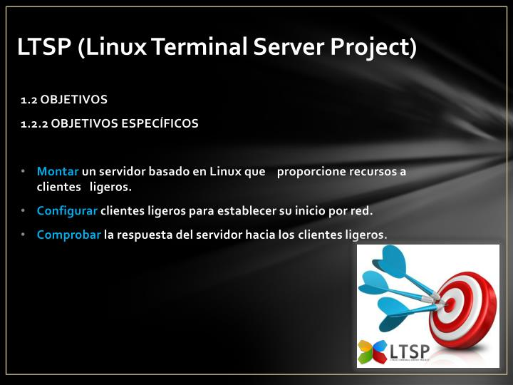 Ltsp linux terminal server project1