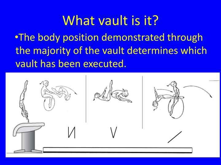 What vault is it?