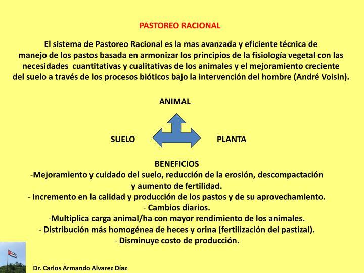 PASTOREO RACIONAL