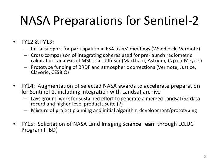 NASA Preparations