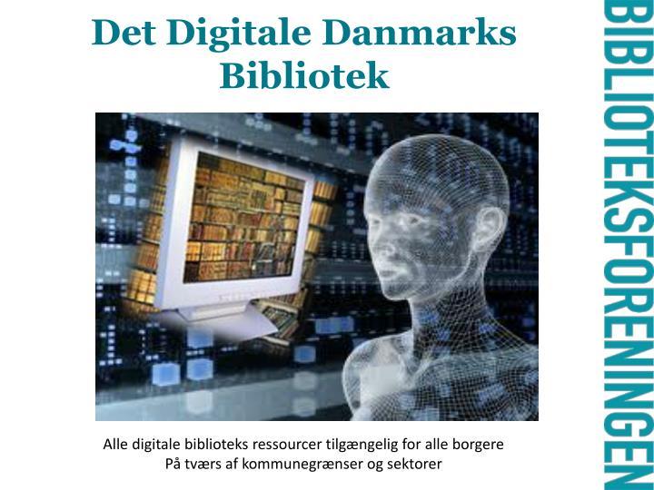 Det Digitale Danmarks Bibliotek