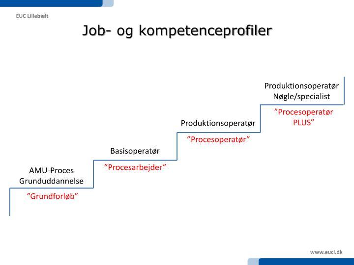 Job- og kompetenceprofiler