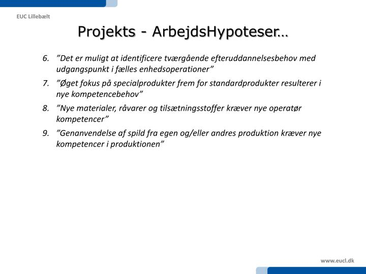 Projekts -