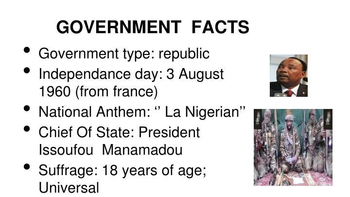GOVERNMENT  FACTS