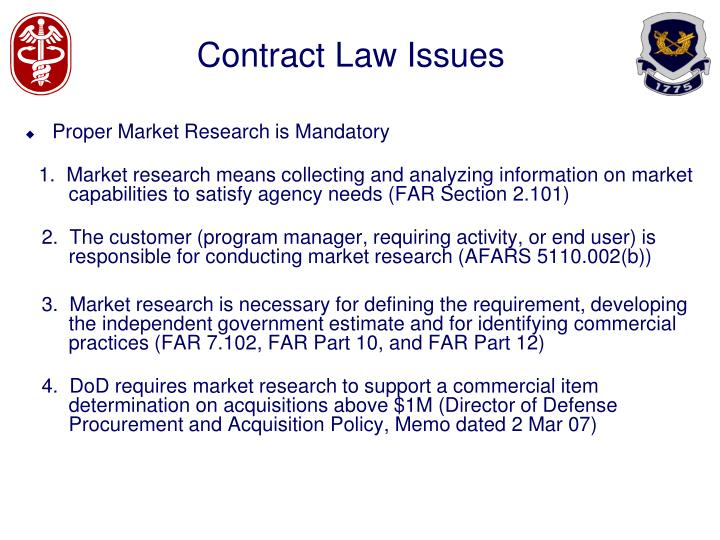 Contract law issues1