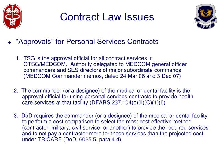 Contract law issues2