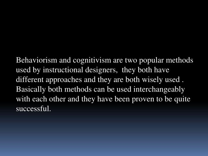 Behaviorism and
