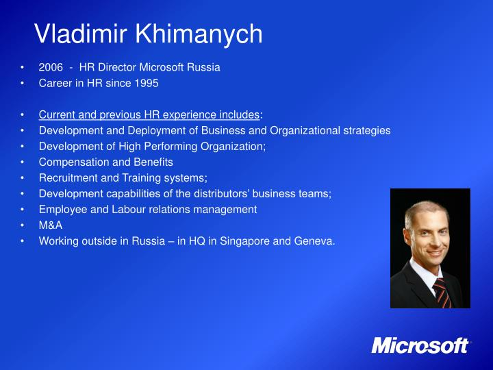 Vladimir Khimanych