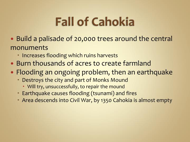 Fall of Cahokia