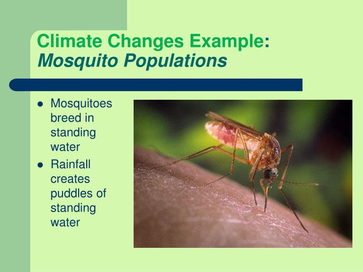 Climate Changes Example