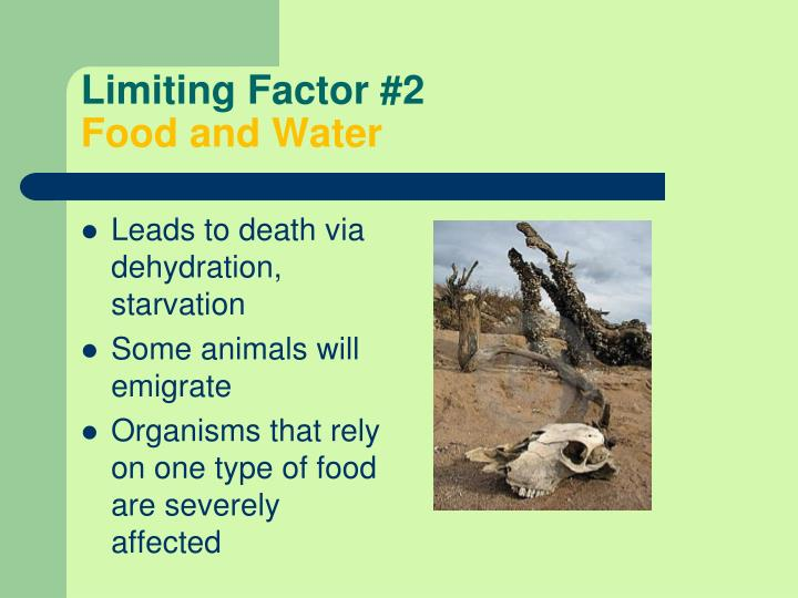 Limiting Factor #2