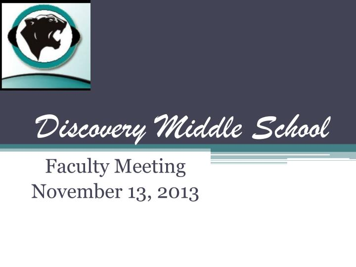 Discovery Middle School