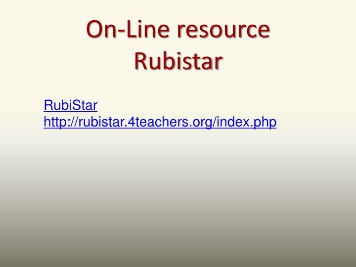 On-Line resource