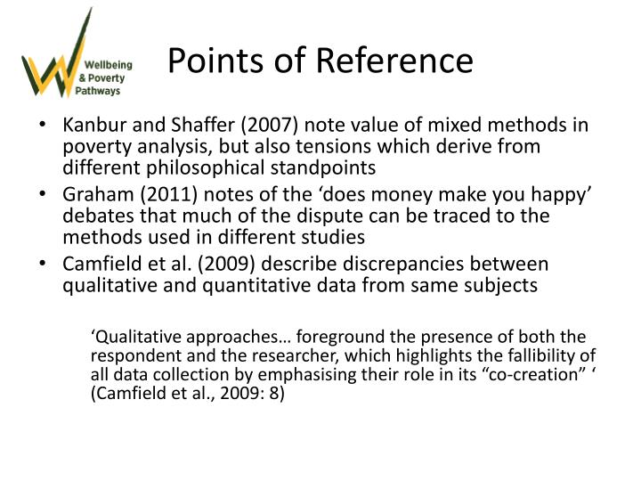 Points of Reference