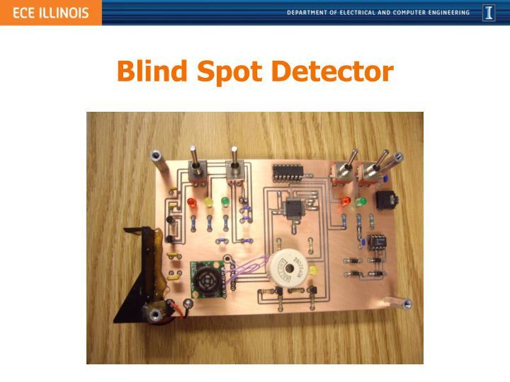 Blind Spot Detector