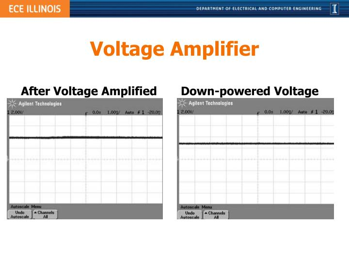 Voltage Amplifier