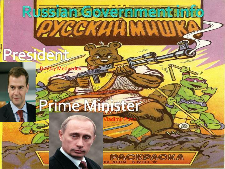 Russian Government info