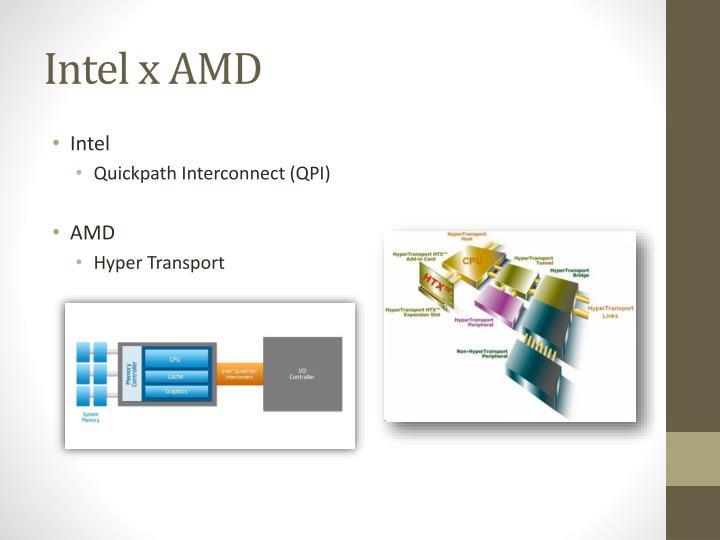 Intel x AMD