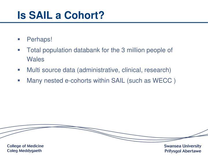 Is SAIL a Cohort?